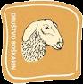 Boškarin značka s kozo