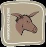 Boškarin značka z oslom